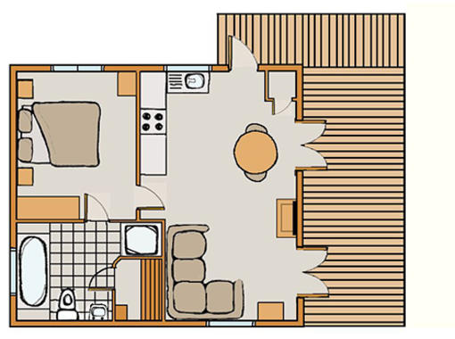 Floor plan for Kedleston Elite Vogue 1
